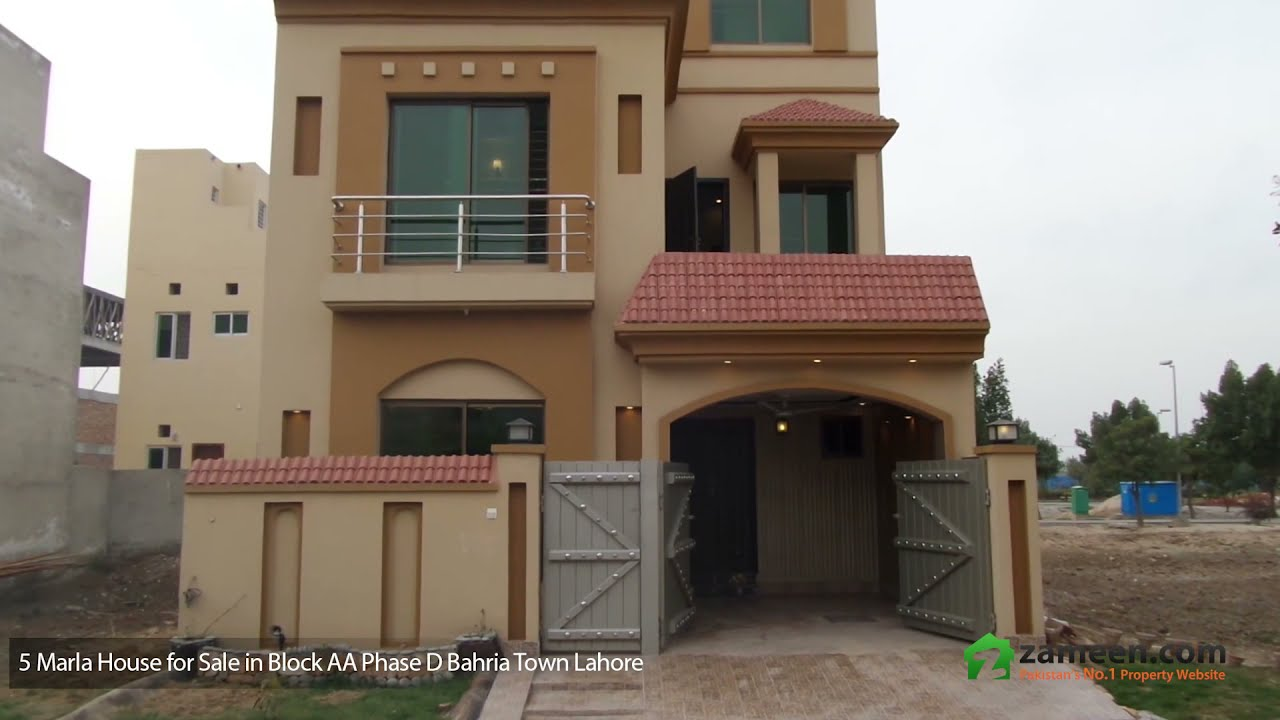 5 Marla House Is Available For Sale In Bahria Town Block Aa Lahore Youtube