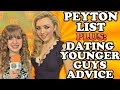 PEYTON LIST Plus DATING YOUNGER GUYS Advice! Peyton Spills about Emma's Relationship Info on Bunk'd!
