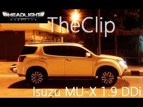 Isuzu MU-X 1.9 2WD - Clip01