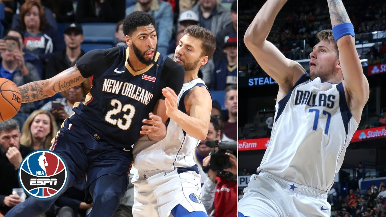 Anthony Davis drops 48 points to upstage Luka Doncic's 34 in Pelicans' win | NBA Highlights
