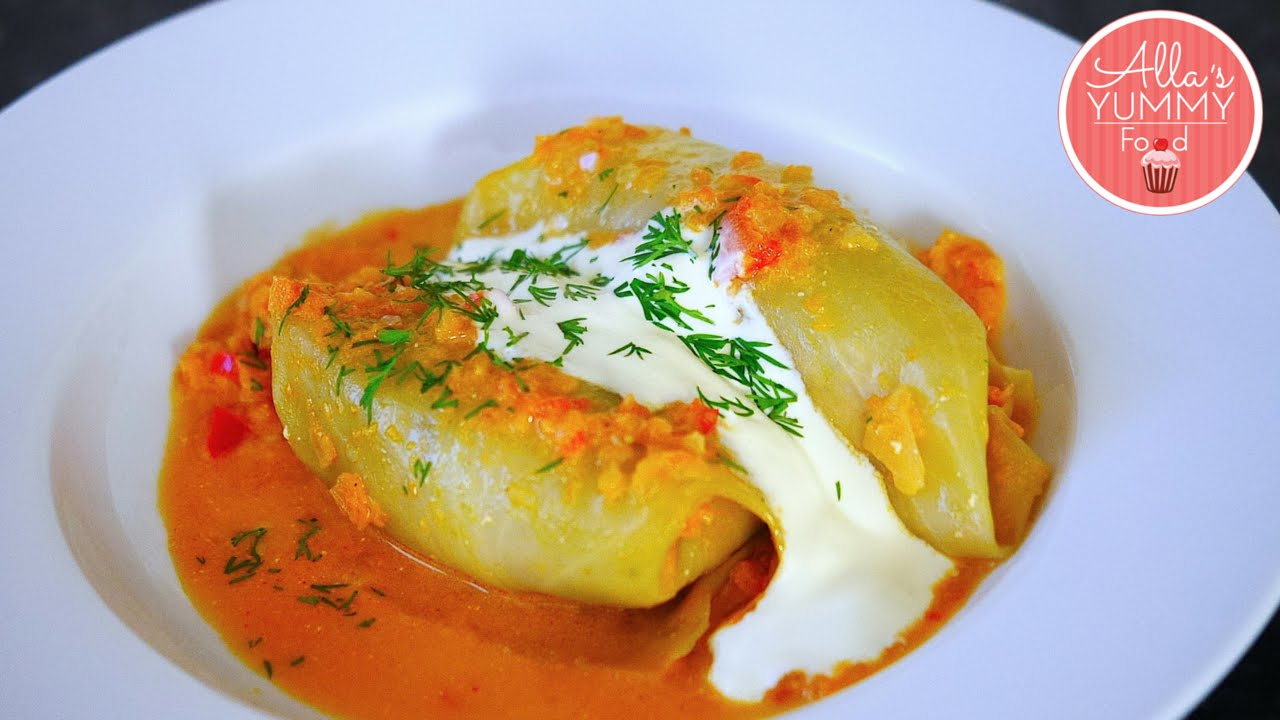 cabbage russian recipes rolls stuffed recipe dinner allasyummyfood cooking meal cuisine