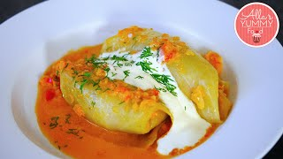 Best Stuffed Cabbage Rolls Recipe | Golubcy | Голубцы