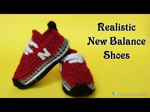 Crochet Baby Sneakers Tutorial (2018) Crochet Tennis Shoes