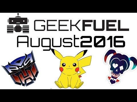 Geek Fuel - August 2016 Variant Suicide Squad Rebirth