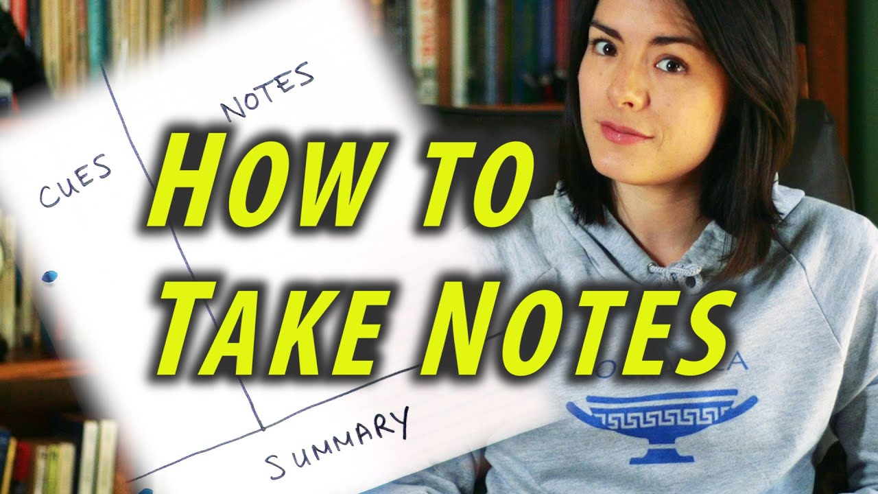 Download How to Take Notes - Study Tips - Cornell Notes