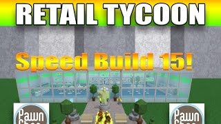 [Roblox: Retail Tycoon] Speed Build 15 | AMAZING PAWN SHOP