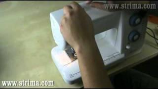Navlékání spodní nitě pro šicí stroje Janome - STRIMA .mp4