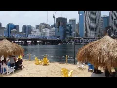 Sydney - City Tours - Darling Harbour and Pyrmont Bridge (opening) 2016 01 09