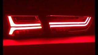 Задние LED фонари в стиле AUDI на LANCER X