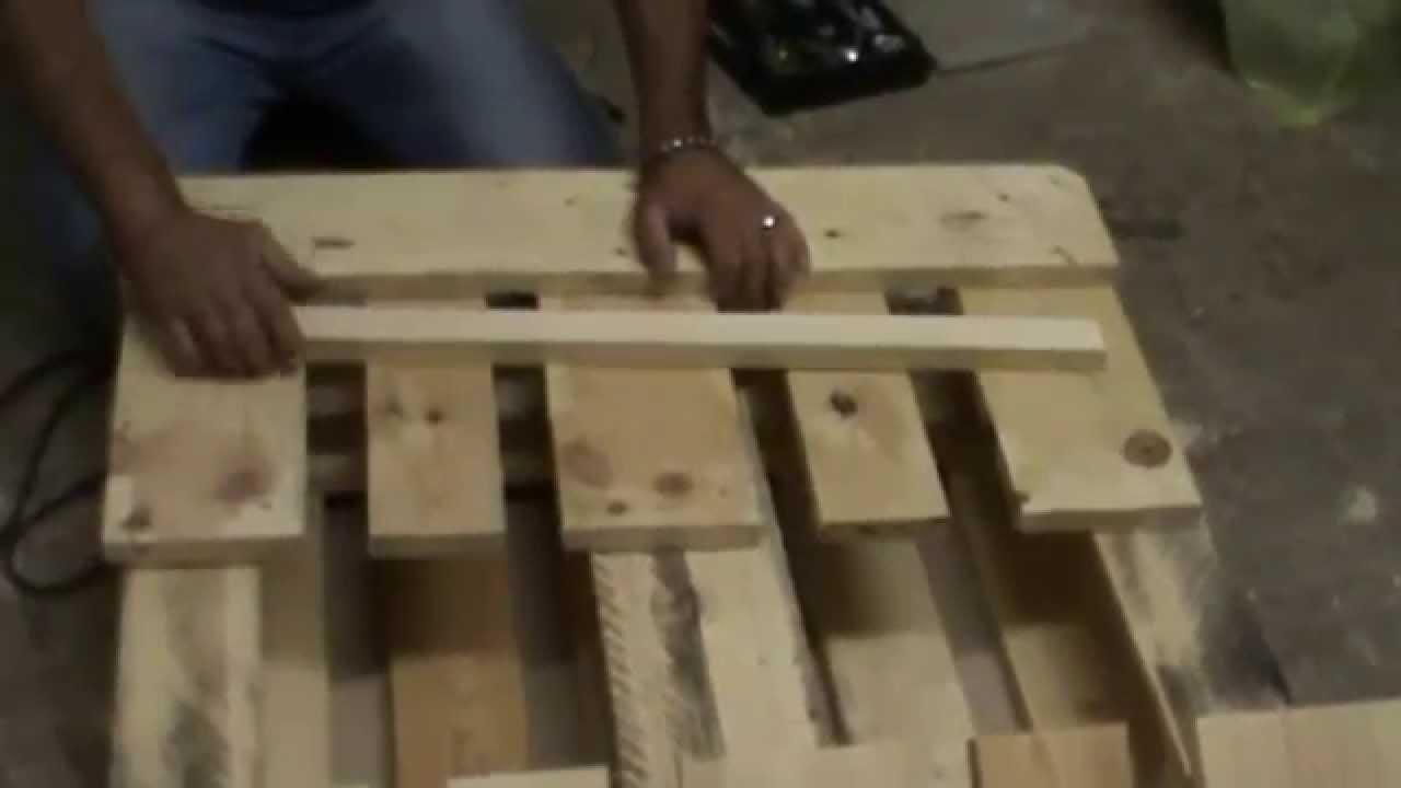 Möbel Aus Europaletten African Style Wohnzimmer Tisch Bauanleitung   YouTube
