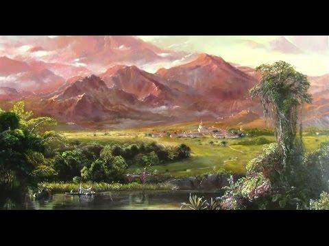Hudson River School Artists-Frederic Church Mountains of Ecuador