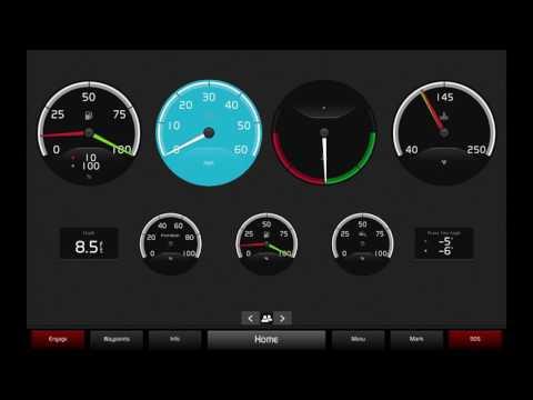 Glass Cockpit Tutorial #1 - Easy Boating