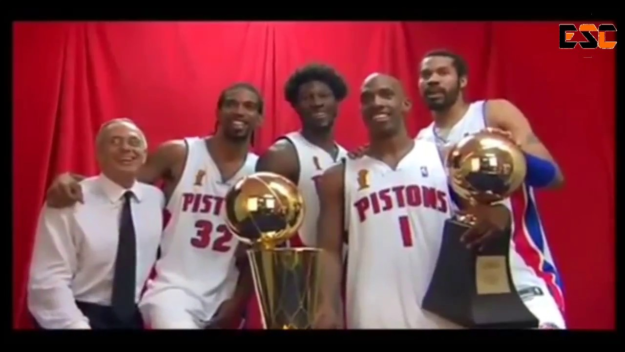 2004 Detroit Pistons Tribute - Welcome ...