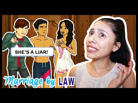 HE'S EXPOSING ME! MY HUSBAND WILL HATE ME! - MARRIAGE BY LAW (Episode 9 - 10) - App Game