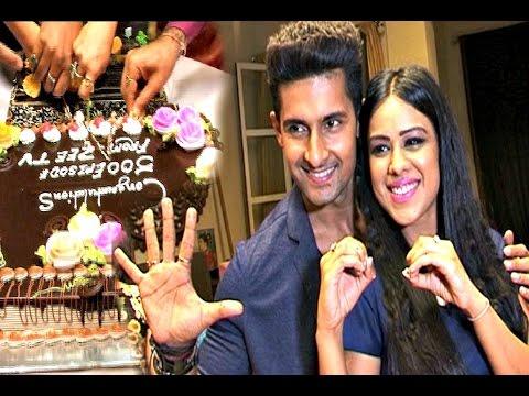 Jamai Raja Episode 500 Celebrations   Nia Sharma, Ravi Dubey   Telly Tweets