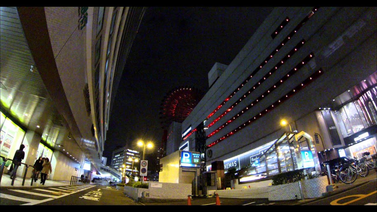 「GoPro HERO3」の 4KCinema画質(15fps)で夜景を撮影してみた