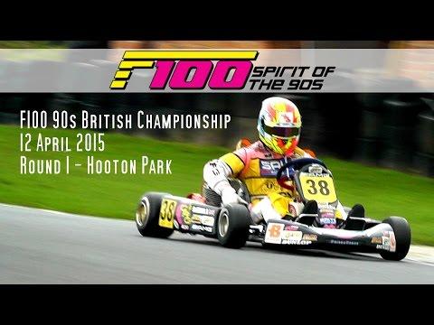 F100 90s 2015 British Championship Round 1 Hooton + FSA Glenn Guest