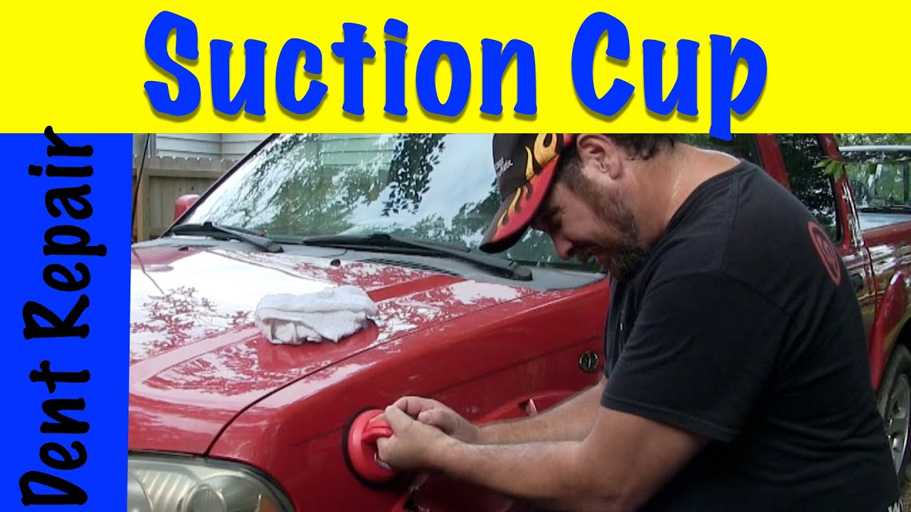 Diy how to repair dent using suction cup youtube diy how to repair dent using suction cup solutioingenieria Images