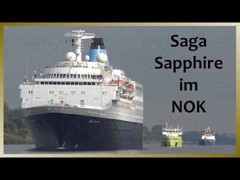 SAGA SAPPHIRE | Passage Nord-Ostsee-Kanal / Kiel Canal | 4K