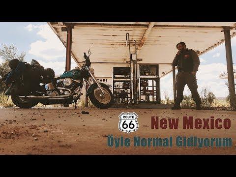 New Mexico'yu Geçmek - Route 66 - Öyle Normal Gidiyorum