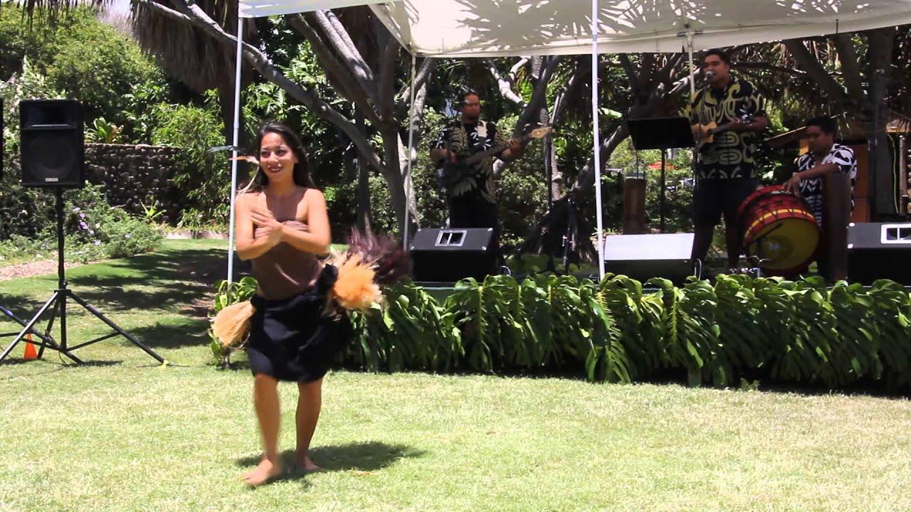 Ola Ka Honua Maui Nui Botanical Garden Kahului Maui Hawaii KPOA Hula July  2014