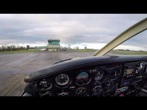VFR Flight Vlog - Blackpool To Leeds East (Church Fenton) | ATC Audio