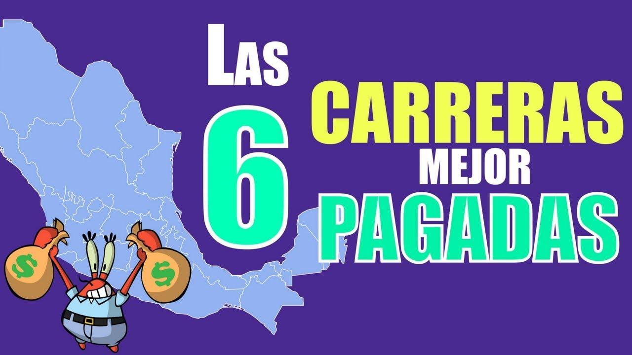 Resultado de imagen para CARRERAS MEJOR PAGADAS