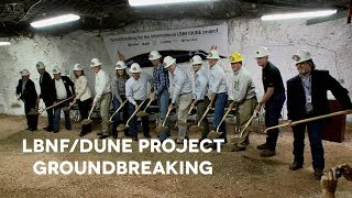 Groundbreaking for the international LBNF / DUNE project thumbnail