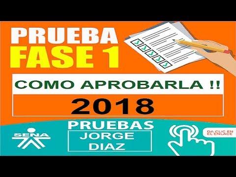 Prueba Sena Como Pasarla 2018