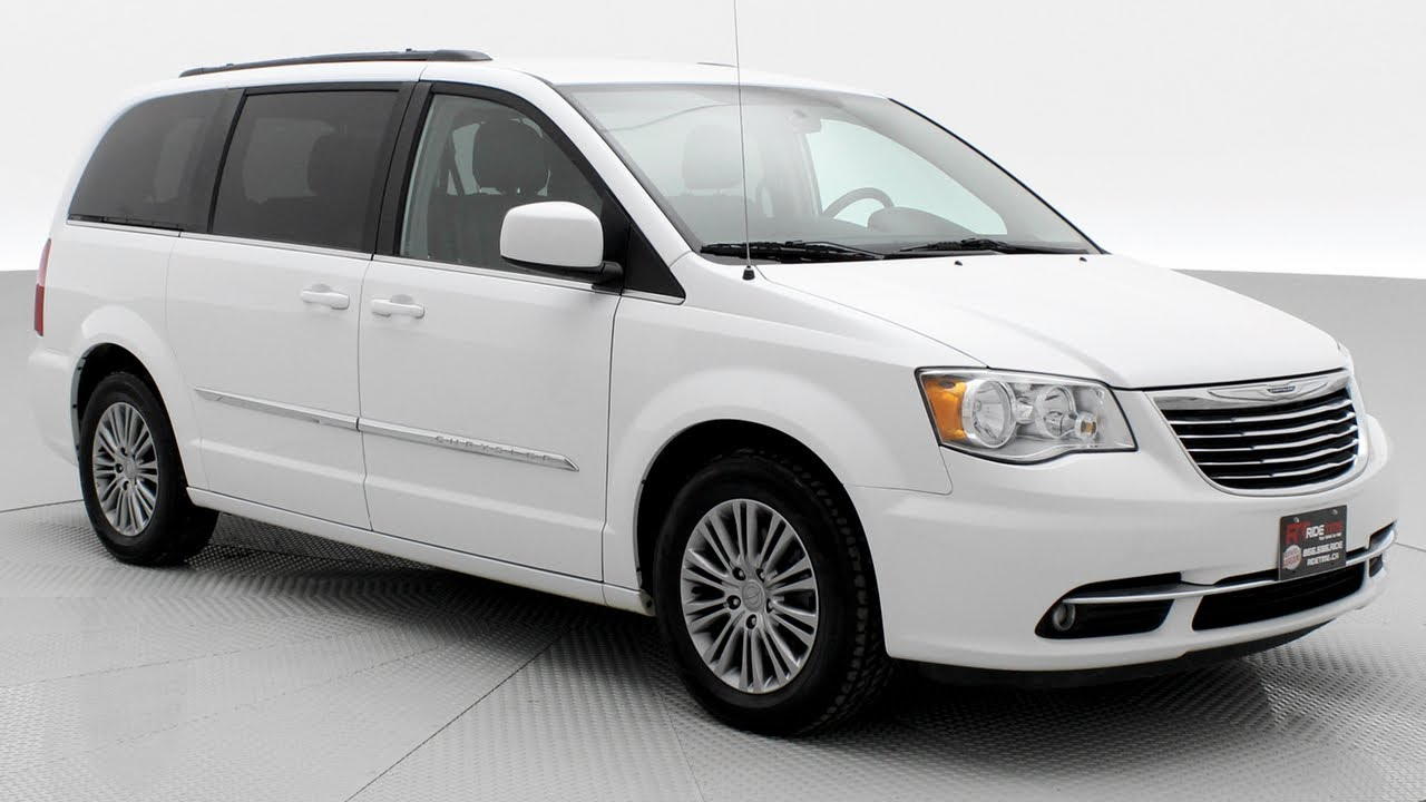 2017 Chrysler Town Country Touring L Remote Start Heated Seats Ridetime Ca