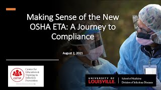 Making Sense of the OSHA ETS: A Journey to Compliance Webinar 1