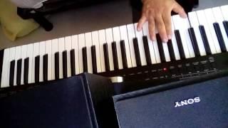 los bukis donde estas cover teclado