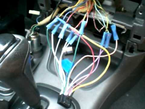 hqdefault jvc headunit install no harness!!! youtube nissan car stereo wiring diagram at cos-gaming.co