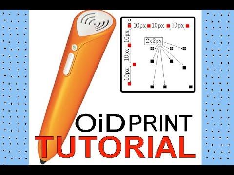 TUTORIAL - tiptoi / TING eigenes Spiel selbst drucken - print own audible book - OIDs drucken