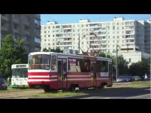 Trams of North West Moscow (tatras and other models)