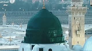 أمن يجيب المضطر إذا دعاه   تلاوة إيمانية بديعة مع أمطار المدينة المنورة - القارئ أحمد النفيس
