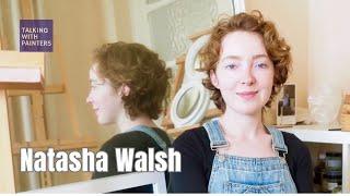 Artist Natasha Walsh talks with Maria Stoljar in her studio