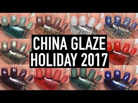 China Glaze - The Glam Finale (Holiday 2017) | Swatch and Review