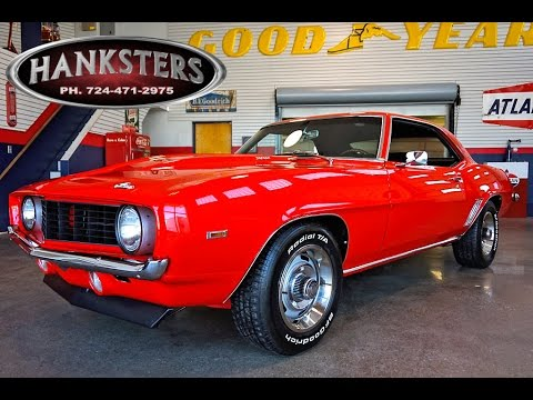 1969 Chevrolet Camaro In Torch Red W 327ci Sbc Turbo 400 Auto For Sale Hanksters Youtube