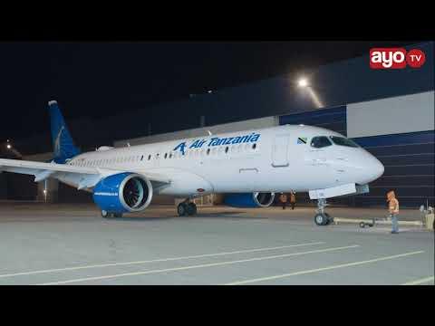 AIRBUS CANADA WASEMA HII NDIO NDEGE MPYA YA TANZANIA, YA KWANZA AFRIKA