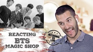 VOCAL COACH reacts to BTS singing MAGIC SHOP