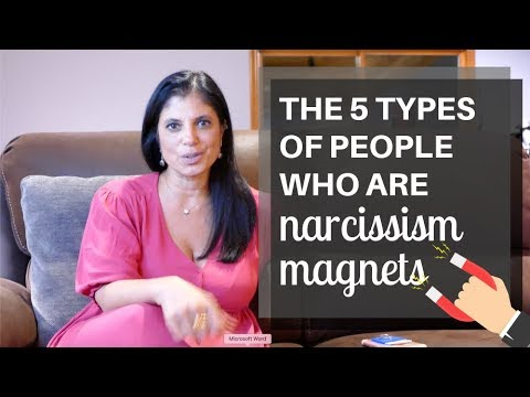 What types of people attract narcissists?
