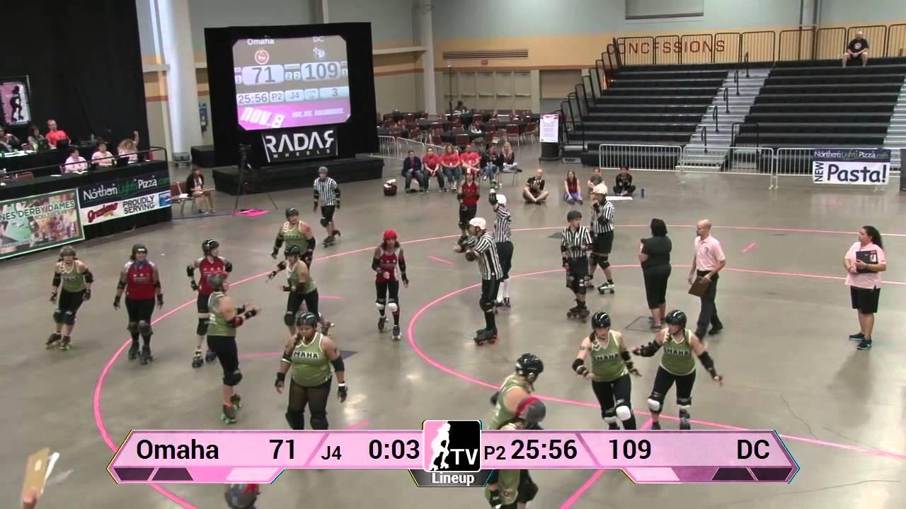 Roller skating omaha - Omaha Rollergirls V Dc Rollergirls 2013 Wftda D2 Playoffs In Des Moines