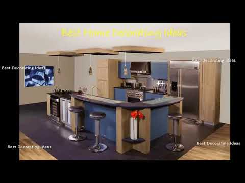 Different shaped kitchen island designs with seating | Best of Modern Design Picture