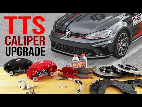 TTS Brake Calipers on MK7 | MK7.5 GTI, Golf R and MQB Audi S3