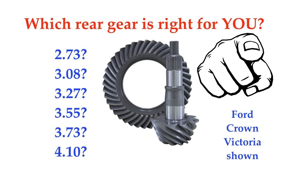 Which Ford Rear Gear Ratio Is Right For You