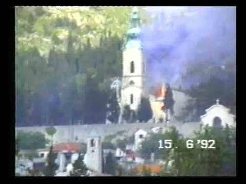 croatian-vatican and muslims destroying Orthodox church in the heart of Europe