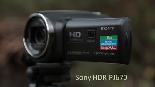 Sony HDR-PJ670 FullHD camcorder review