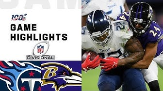 Titans vs. Ravens Divisional Round Highlights | NFL 2019 Playoffs