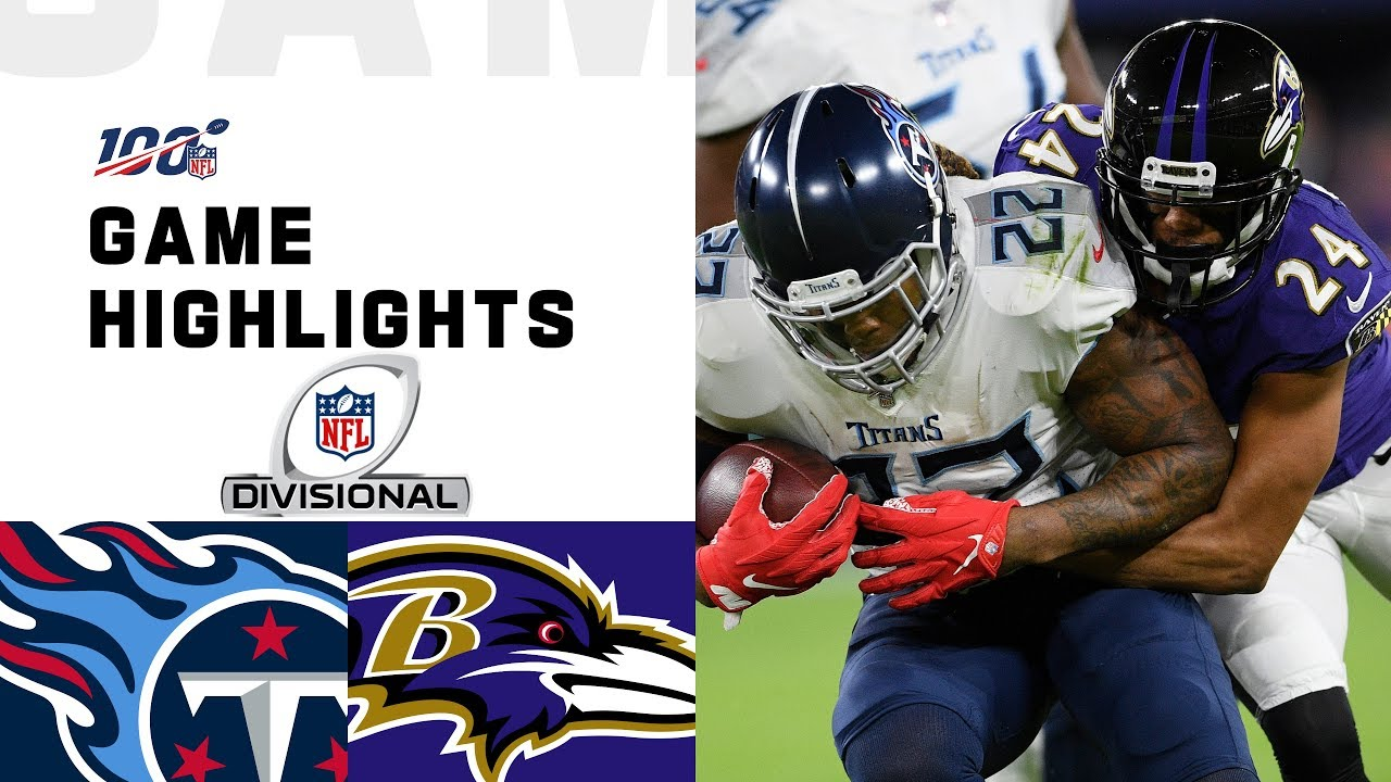 Titans Vs Ravens Divisional Round Highlights Nfl 2019 Playoffs Youtube